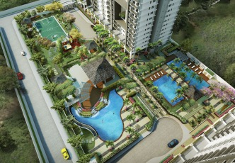 Flair Towers DMCI Homes Mandaluyong Amenity Area