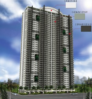 Flair Towers DMCI Mandaluyong perspective