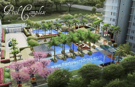 Flair Towers DMCI Homes Reliance Mandaluyong  Kiddie Pool